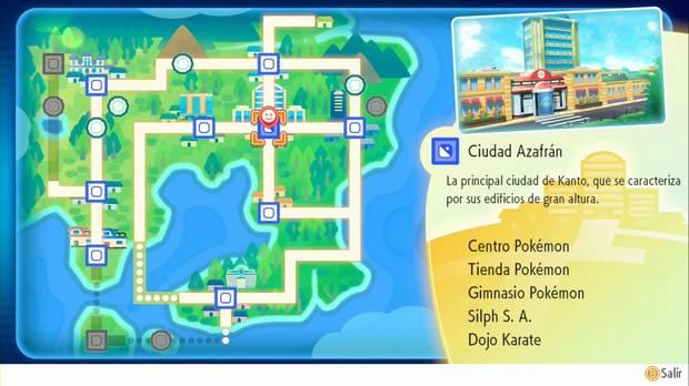 Pokémon Let's Go - Ciudad Azafrán: entrada