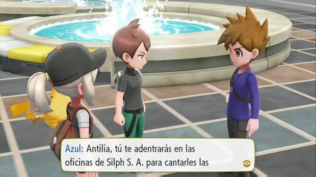 Pokémon Let's Go - Silph SA 1