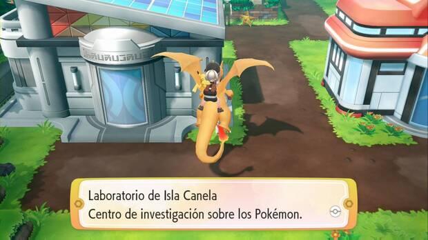 Pokémon Let's Go - Isla Canela: Laboratorio Pokémon