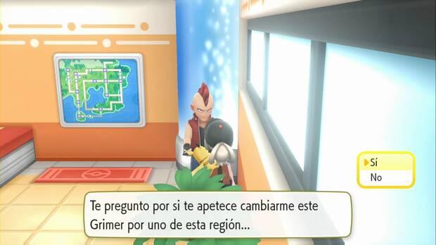 Pokémon Let's Go - Isla Canela: intercambio Alola
