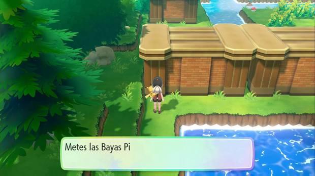 Pokémon Let's Go - Ruta 23: Baya Pinia Dorada