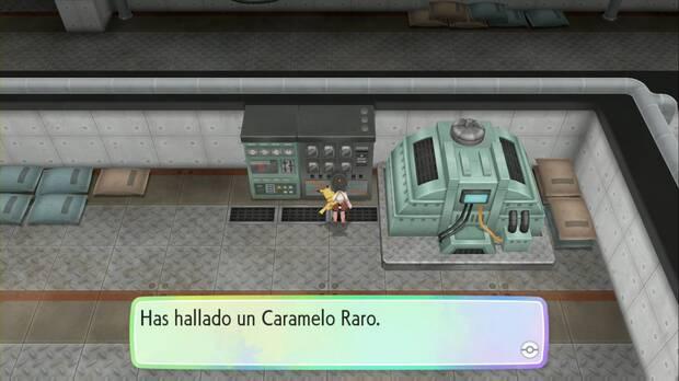 Pokémon Let's Go - Central de energía: Caramelo Raro