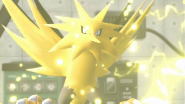 Pokémon Let's Go - Central de energía: Zapdos