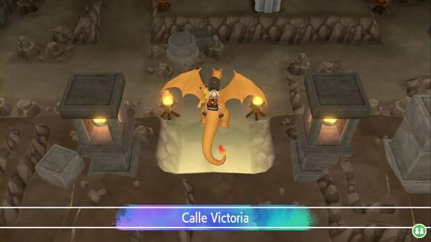 Pokémon Let's Go - Calle Victoria: entrada