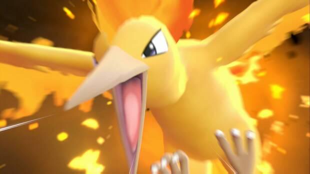 Pokémon Let's Go - Calle Victoria: Moltres
