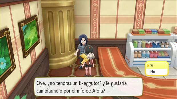 Pokémon Let's Go - Meseta Añil: Exeggutor Alola