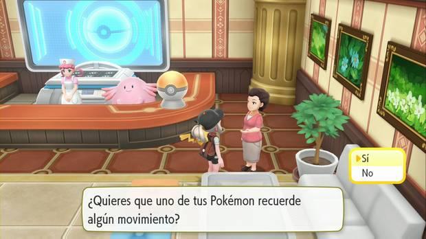 Pokémon Let's Go - Meseta Añil: Recuerda-Movimientos