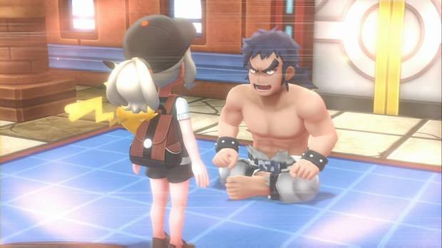Pokémon Let's Go - Meseta Añil: Bruno