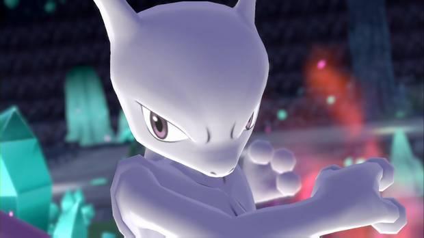 Pokémon Let's Go - Mewtwo
