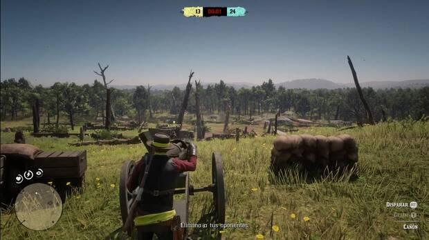 Modos de juego competitivo Red Dead Online