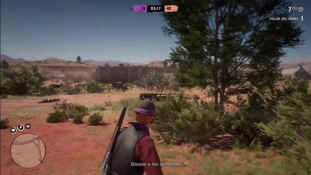 Territorio hostil Red Dead Online