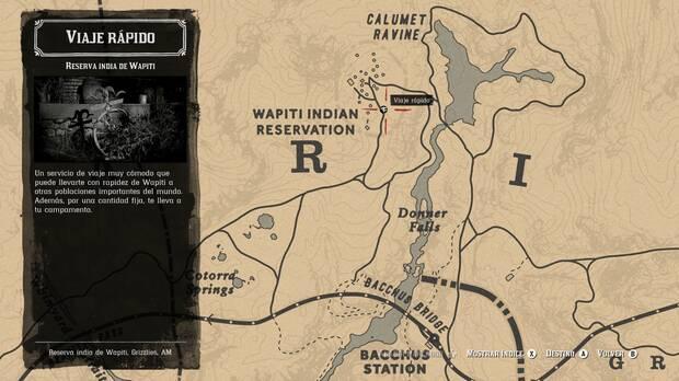Viaje rápido en Red Dead Online