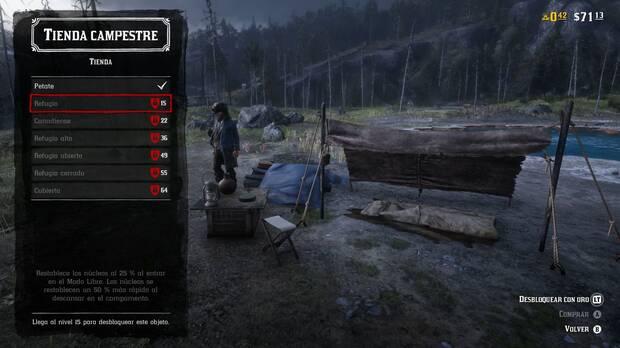 El Campamento en Red Dead Online