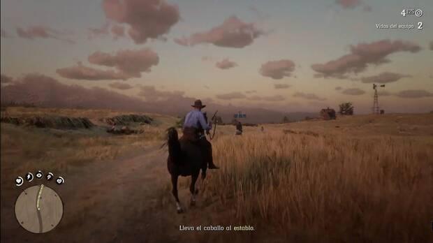 subir de nivel en Red Dead Online