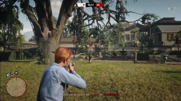Conseguir experiencia en Red Dead Online