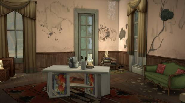 Red Dead Redemption 2: Recrean en Los Sims 4 una de las mansiones del juego Imagen 3