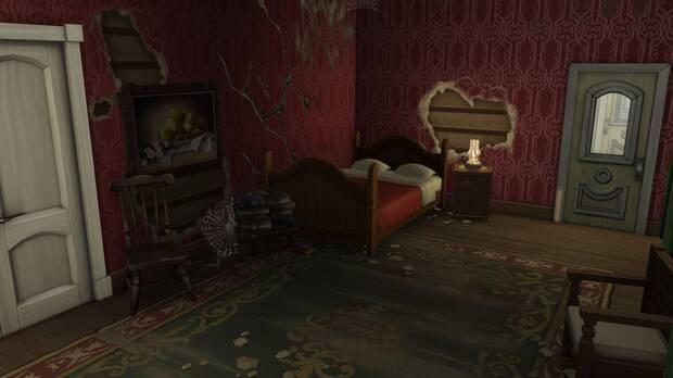 Red Dead Redemption 2: Recrean en Los Sims 4 una de las mansiones del juego Imagen 2