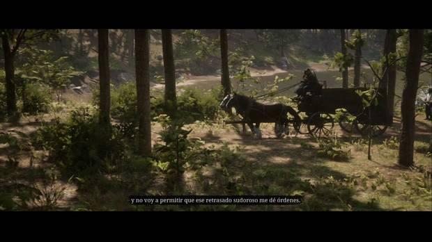 Red Dead Redemption 2 - Más cuestiones del sufragio femenino: Sadie se queja de Pearson
