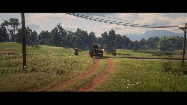 Red Dead Redemption 2 - Más cuestiones del sufragio femenino: Sadie dispara a los saqueadores