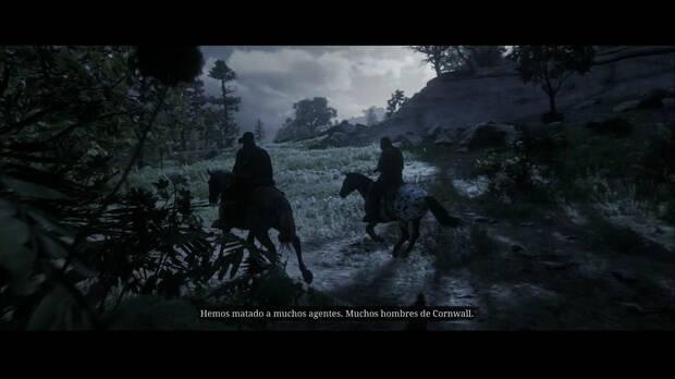 Red Dead Redemption 2 - Una amabilidad inusitada: Arthur y Charles cabalgan hacia Dewberry