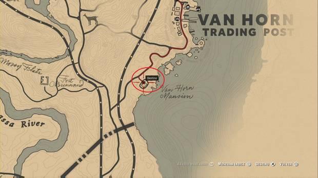 Red Dead Redemption 2 - Robos en casas: Mansión Van Horn