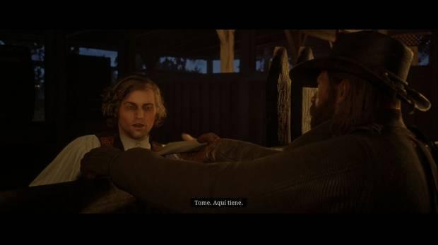 Red Dead Redemption 2 - El camino del amor verdadero: Arthur entrega la carta de Penélope