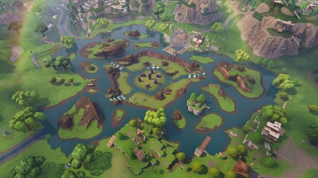 Fortnite Battle Royale: Este fue el espectacular final del cubo púrpura Imagen 2