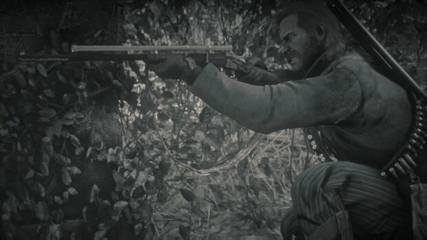 Red Dead Redemption 2 - Predicando el perdón a su paso: Arthur usa el fusil de precisión