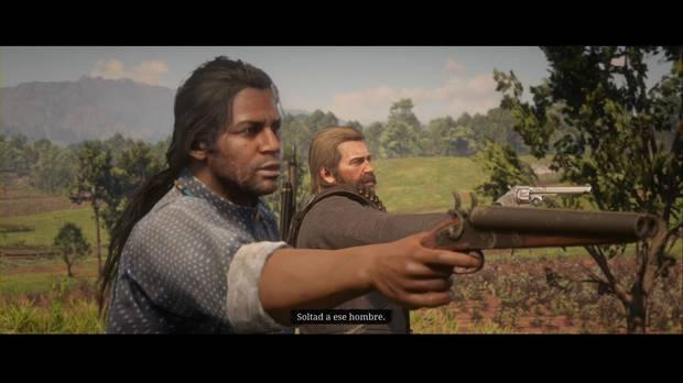 Red Dead Redemption 2 - A la caza del mago: Arthur y Charles encuentran a Trelawny