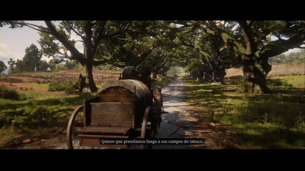 Red Dead Redemption 2 - Los placeres del tabaco: Sean explica el plan a Arthur