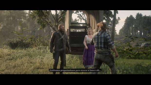 Red Dead Redemption 2 - ¿Sodoma? De vuelta a Gomorra: la banda planea atracar un banco