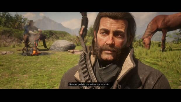 Red Dead Redemption 2 - Amigos en los bajos fondos: Arthur bromea con Trelawny