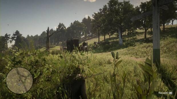 Red Dead Redemption 2 - Amigos en los bajos fondos: lugar en el que esconderte