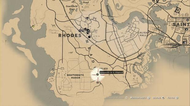 Red Dead Redemption 2 - Asaltos a diligencias: diligencia 5