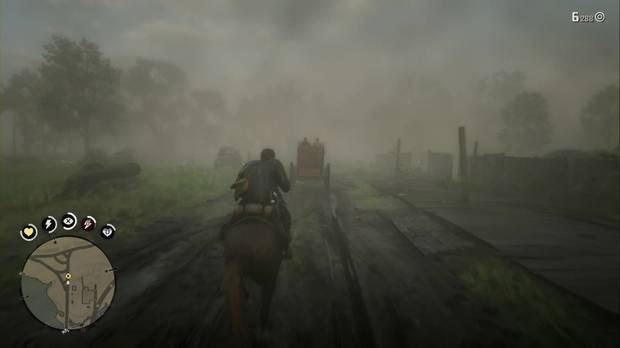 Red Dead Redemption 2 - La paternidad y otros sueños: persigue el carro