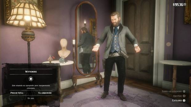 Red Dead Redemption 2 - Una agradable noche de desenfreno: la nueva ropa de Arthur