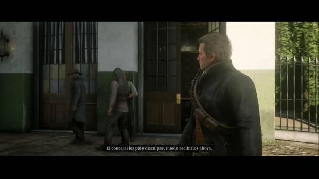 Red Dead Redemption 2 - Padres americanos: el alcalde recibe a los indígenas