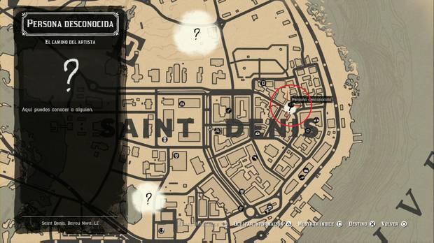 Red Dead Redemption 2 - Misiones de forastero: El camino del artista