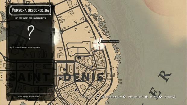 Red Dead Redemption 2 - Misiones de forastero: Las bondades del conocimiento