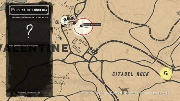 Red Dead Redemption 2 - Misiones de pistoleros: localización