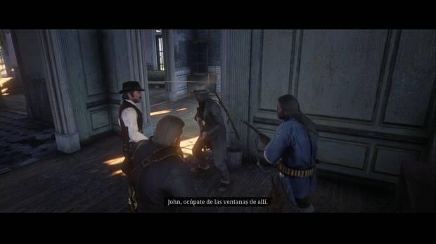 Red Dead Redemption 2 - Jinetes y apocalipsis: Dutch da órdenes a la banda