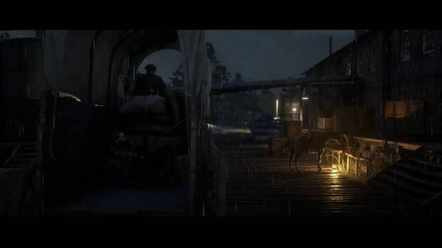 Red Dead Redemption 2 - Padres americanos: Arthur entra con el carro