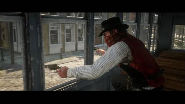 Red Dead Redemption 2 - Placeres urbanos: Dutch quiere bajar del tranvía
