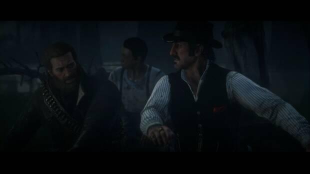 Red Dead Redemption 2 - Cacerías campestres: el grupo sube a la barca
