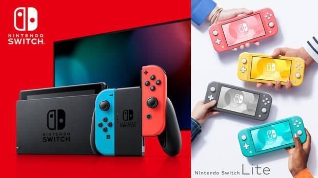 Familia Nintendo Switch, la consola m
