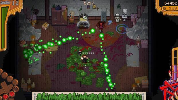 Captura de The Textorcist, el nuevo juego gratis de Epic Games Store.