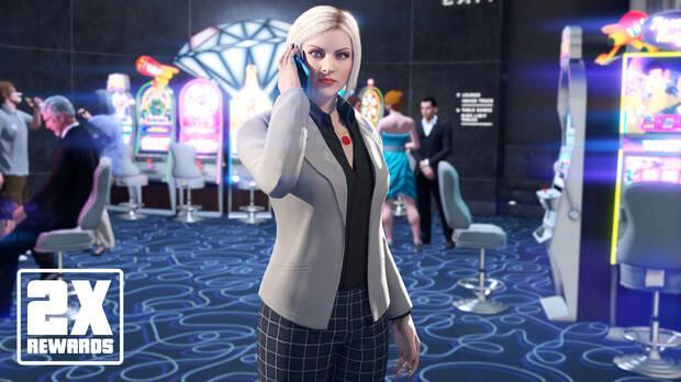 Recompensas dobles en la trama del casino esta semana en GTA Online