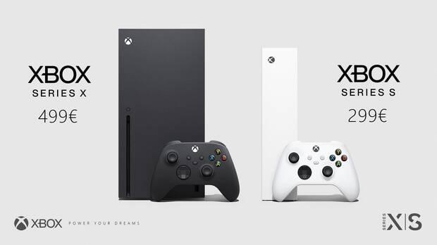 Precio de Xbox Series X y Xbox Series S.