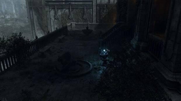 Esto es lo que se ve al otro lado de la puerta de Demon's Souls Remake que nadie sabe abrir.