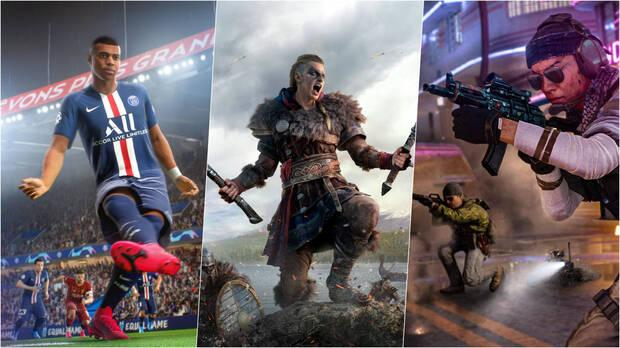 Black Friday ofertas fifa assassins creed call of duty